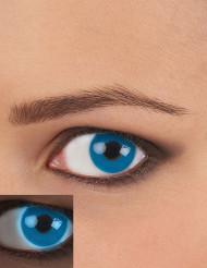 Lentes de contacto UV Azul