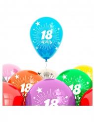8 Balões aniversário 18 anos