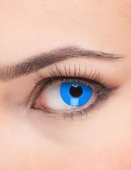 Lentes fantasia olho azul