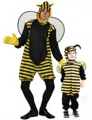 Disfarce de casal abelha Pai e filho
