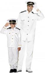 Disfarce de casal Capitão marinheiro Pai e filho
