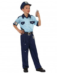 Disfarce Polícia para menino
