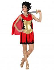 Disfarce romana gladiadora mulher