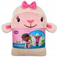 Cobertor com capuz criança Disney Doutora Brinquedos