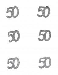 Confetis aniversário 50 anos