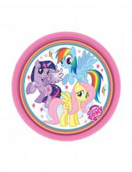 8 Pratos pequenos de cartão My Little Pony™