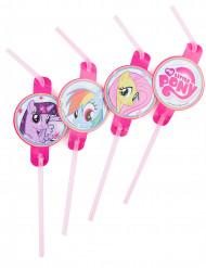 8 Palhinhas My Little Pony™ 24 cm