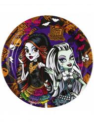 8 Pratos Monster High™
