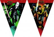Grinalda de bandeirolas Star Wars Rebels™