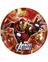 8 pratos 23cm Avengers™