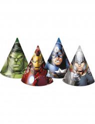 6 Chapéus de festa Avengers™