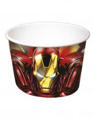 8 Copos para gelados Iron Man™
