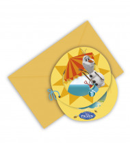 6 Convites Olaf™