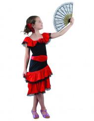 Disfarce flamenco menina