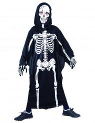 Disfarce de esqueleto para halloween