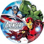 Prato de plástico Avengers™