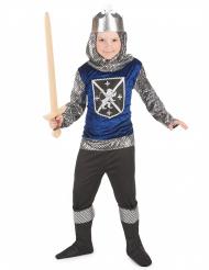 Disfarce cavaleiro rapaz