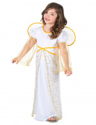 Disfarce de anjo menina