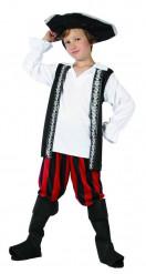 Disfarce pirata caveira rapaz