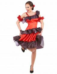 Disfarce flamenco mulher