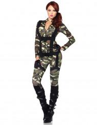 Disfarce militar macacão mulher