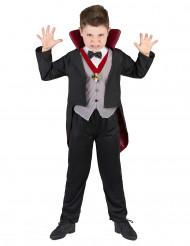 Disfarce de vampiro menino