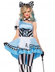 Disfarce Alice mulher