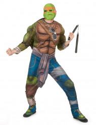 Disfarce Michelangelo Tartarugas Ninja™ adulto