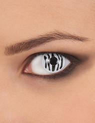 Lentes fantasia zebra adulto