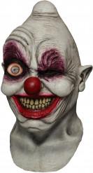 Máscara integarl animada adulto palhaço louco