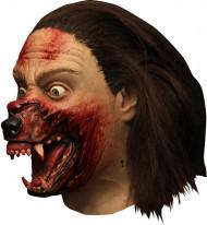 Máscara integral Hemlock Grove™ tranformação lobisomem