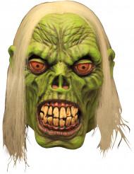 Máscara zombie verde