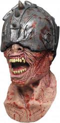 Máscara integral de zombie guerreiro