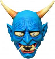 Máscara demónio azul