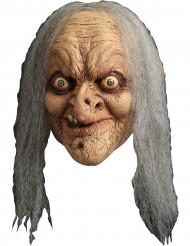 Máscara de bruxa adulto