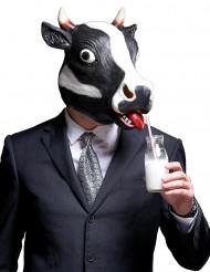 Máscara Vaca com cornos Adulto