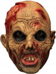 Máscara 3/4 zombie com dentadura
