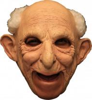 Máscara 3/4 velho homem deluxe