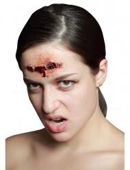 Falsa ferida agrafada