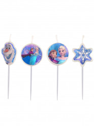 4 Velas de aniversário Frozen™