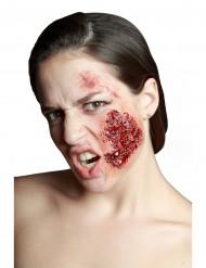 Falsa ferida de bochecha