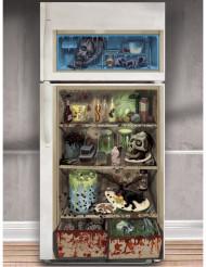 Decoração de frigorífico zombie