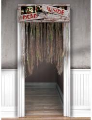 Decoração de porta Zombies