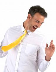 Gravata amarela fluorescente - adulto