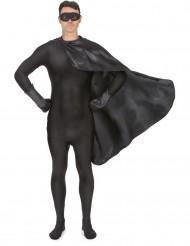 Kit super-herói preto adulto