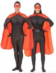 Kit super-herói vermelho adulto