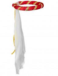 Coroa Medieval Vermelha para criança