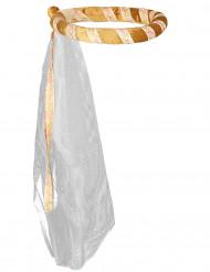 Coroa de flores Dourada para criança