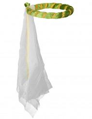 Coroa medieval verde para menina