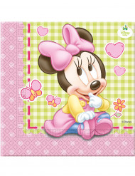 20 Guardanapos Bébé Minnie™